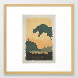 Creation - Jurassic World Poster Framed Art Print