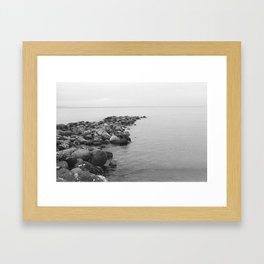 Davao Times beach Framed Art Print