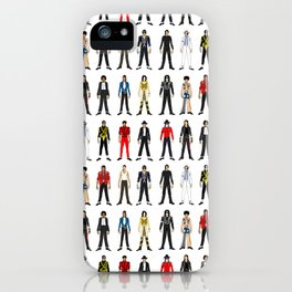 King MJ Pop Music Fashion LV iPhone Case