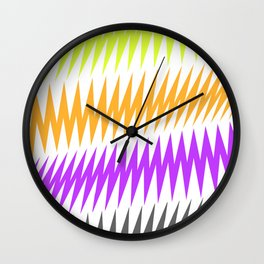 FUNKY STRIPE Wall Clock