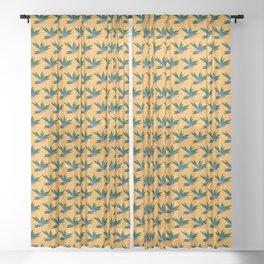 Tropicalia Gold Sheer Curtain