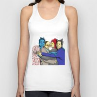seinfeld Tank Tops featuring The Uncanny Seinfeld by capperflapper