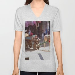 Popular life in the Middle East Unisex V-Neck