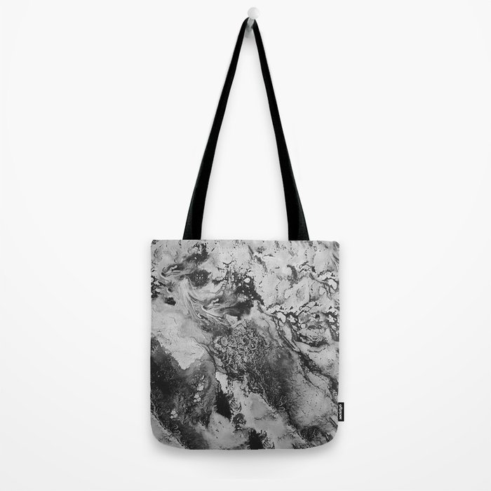 White: Paint Tote Bag