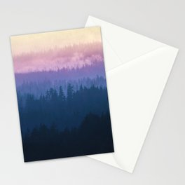 Smokey Layers Stationery Cards