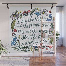 See the Moon Wall Mural