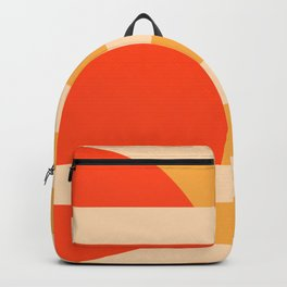 GEOMETRY ORANGE I Backpack