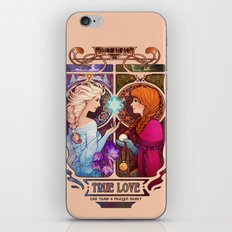Let Me In - quote version iPhone & iPod Skin