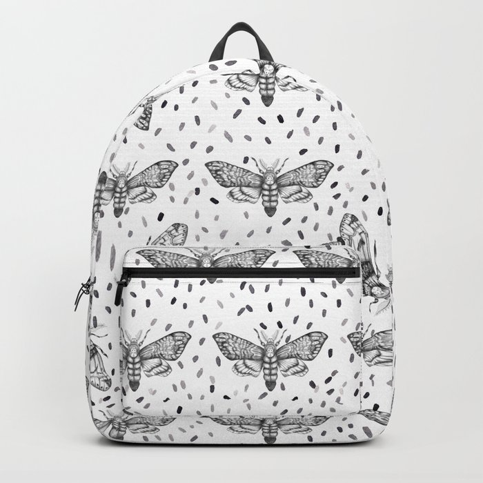 Moths pattern Backpack