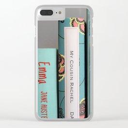 Shelfie in Aqua Clear iPhone Case
