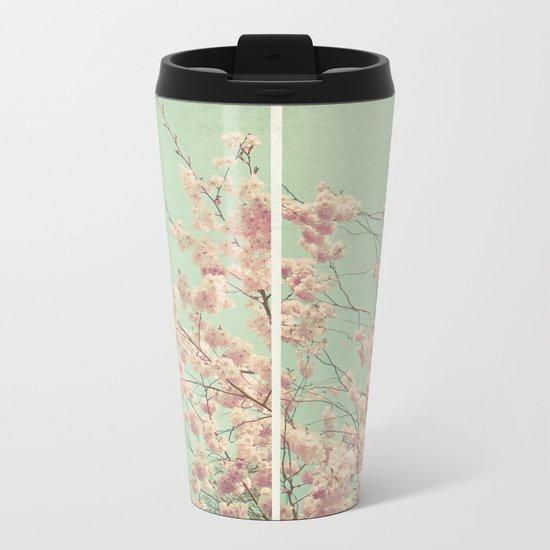 Blossom Diptych Metal Travel Mug