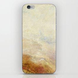 A mountain scene by Joseph Mallord William Turner, 1845 iPhone Skin