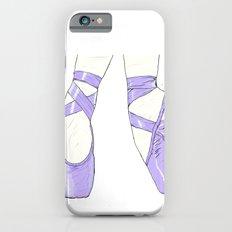 Ballet Pumps: Purple iPhone 6s Slim Case