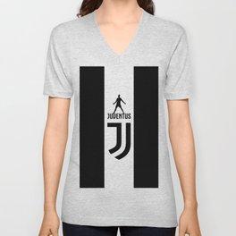 Christiano Ronaldo Juventus Unisex V-Neck