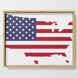 United States Serving Tray