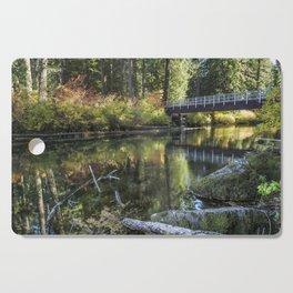 Fall at Clear Lake, No. 2 Cutting Board