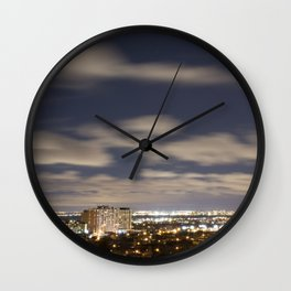 City Lights. Wall Clock