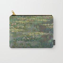 Claude Monet - Le Bassin Aux Nympheas Harmonie Verte Carry-All Pouch