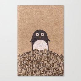 King Penguin of Penguin Nation Canvas Print