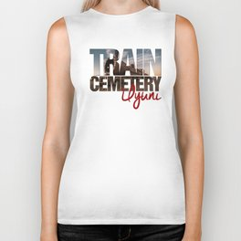 Train Cemetery, Uyuni Biker Tank