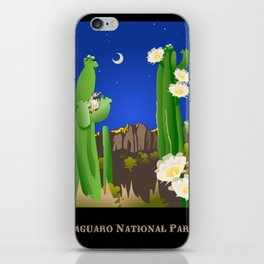 Saguaro National Park iPhone Skin