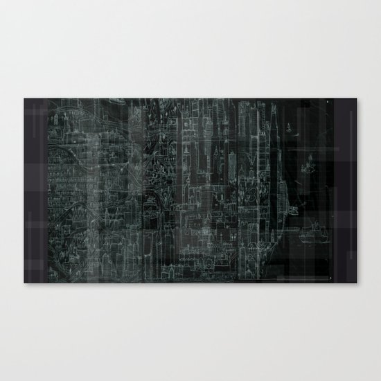 The City Of Imagination  Canvas Print