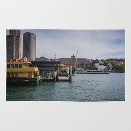 Sydney Ferries Rug