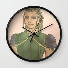 Zevran Arainai Wall Clock