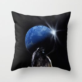 Shadow View Throw Pillow