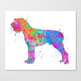 German Wirehaired Pointer Canvas Print
