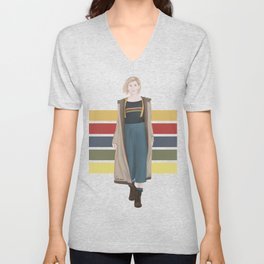 Doctor Who | 13th Doctor Unisex V-Neck