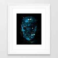 death star Framed Art Prints featuring death star by frederic levy-hadida