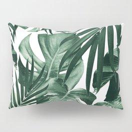 Tropical Jungle Leaves Pattern #4 #tropical #decor #art #society6 Pillow Sham