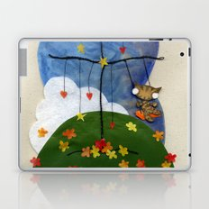 Swing Swing! Cat On A Swing Laptop & iPad Skin