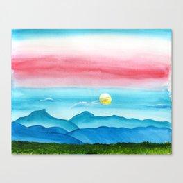 Autumn Moon Festival Canvas Print