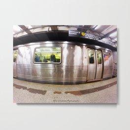Brooklyn & Downtown Metal Print