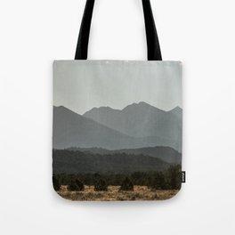 Rocky Mountain Haze Tote Bag