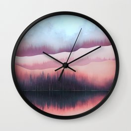 Valentine Forest Wall Clock