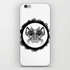 Half Hairy Angry Monkey iPhone & iPod Skin