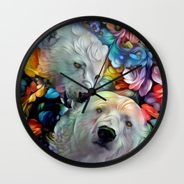 I'm Just Gonna Nibble on Your Ear Maybe a Little Bit... Wall Clock