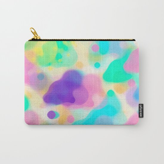 Watercolor splashes abstract Carry-All Pouch