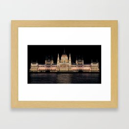 Hungarian Parliament | Architecture Framed Art Print