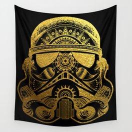 Mandala StormTrooper - Gold Foil Wall Tapestry