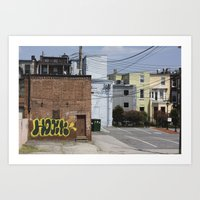baltimore Art Prints featuring Baltimore  by Nick Coleman