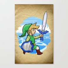 Link, The Wind Waker Canvas Print
