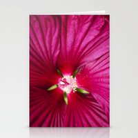 hibiscus Stationery Cards featuring Hibiscus by Christina Rollo