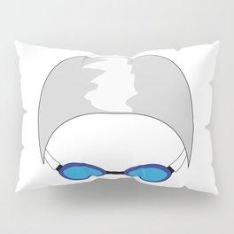 Swim Cap and Goggles Pillow Sham