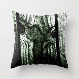 Freak in a tree Throw Pillow