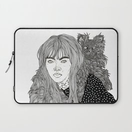 I Am Not A Cat Person Laptop Sleeve