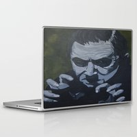 dracula Laptop & iPad Skins featuring Dracula by Paintings That Pop
